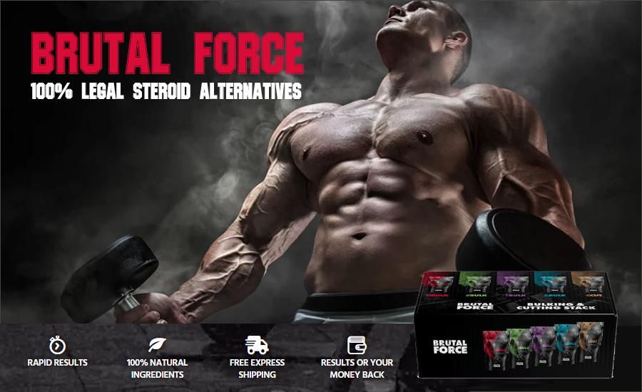 Brutal Force - legal steroids alternative